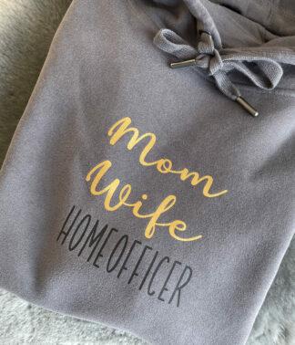 Damen & Herren Hoodie: Homeofficer