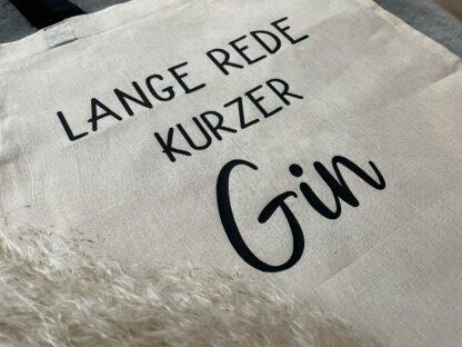 Detailansicht: Lange Rede kurzer Gin