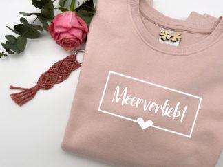 Meerverliebt Pullover in Soft-Rosé