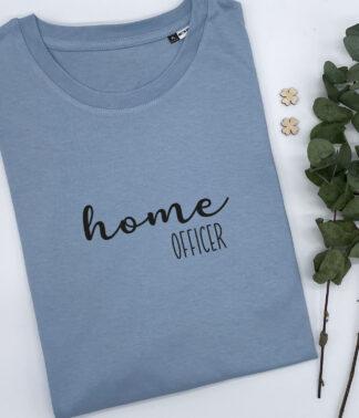 T-Shirt Homeofficer in Nordic-Blau
