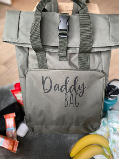 Roll-Top-Daddy-Bag in 3 Farben