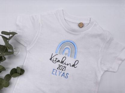 Kitakind T-Shirt in Weiß
